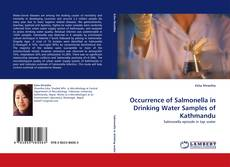 Обложка Occurrence of Salmonella in Drinking Water Samples of Kathmandu
