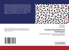 Bookcover of Product Development Techniques