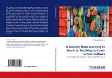 Capa do livro de A Journey from Learning to Teach to Teaching to Learn across Cultures