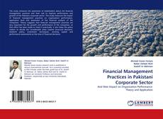 Buchcover von Financial Management Practices in Pakistani Corporate Sector
