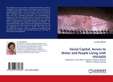 Portada del libro de Social Capital, Access to Water and People Living with HIV/AIDS