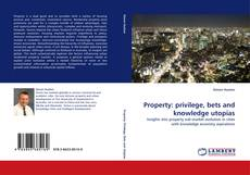 Bookcover of Property: privilege, bets and knowledge utopias