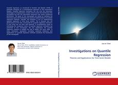 Bookcover of Investigations on Quantile Regression