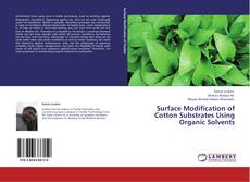 Обложка Surface Modification of Cotton Substrates Using Organic Solvents