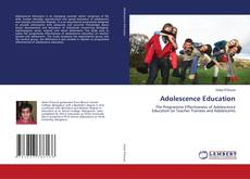 Copertina di Adolescence Education