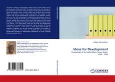 Buchcover von Ideas for Development