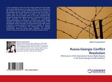 Bookcover of Russia-Georgia Conflict Resolution
