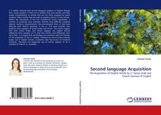 Bookcover of Second language Acquisition