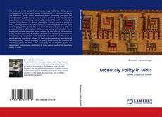Bookcover of Monetary Policy in India