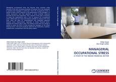 Couverture de MANAGERIAL OCCUPATIONAL STRESS