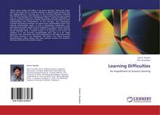 Bookcover of Learning Difficulties