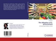 The Adoption of E-procurement kitap kapağı