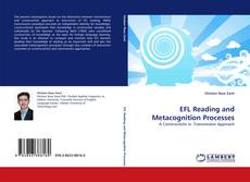 Bookcover of EFL Reading and Metacognition Processes