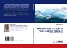 Bookcover of MATHEMATICAL METHODS IN PSYCHOLOGICAL RESEARCH