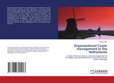 Capa do livro de Organizational Career management in The Netherlands