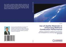 Bookcover of Use of Zeolite Materials in Enhancing Methane Combustion Performance