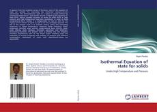 Bookcover of Isothermal Equation of state for solids