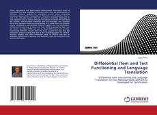 Buchcover von Differential Item and Test Functioning and Language Translation