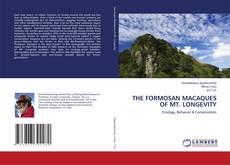 Capa do livro de THE FORMOSAN MACAQUES OF MT. LONGEVITY