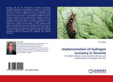 Portada del libro de Implementation of hydrogen economy in Slovenia