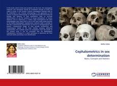 Capa do livro de Cephalometrics in sex determination