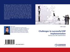 Capa do livro de Challenges to successful ERP Implementation