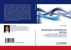 MICROWAVE SINTERING OF METALS的封面