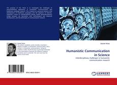 Copertina di Humanistic Communication in Science