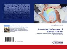 Couverture de Sustainable performance of business start-ups