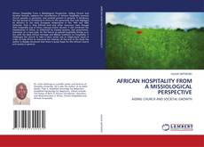 AFRICAN HOSPITALITY FROM A MISSIOLOGICAL PERSPECTIVE kitap kapağı