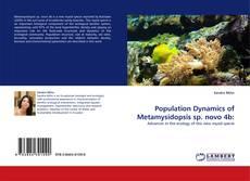 Capa do livro de Population Dynamics of Metamysidopsis sp. novo 4b: