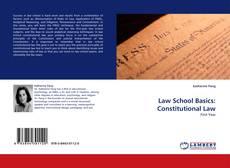 Capa do livro de Law School Basics: Constitutional Law