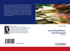 Bookcover of Law School Basics: Civil Procedure