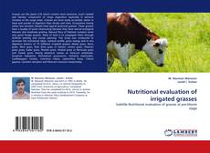 Bookcover of Nutritional evaluation of irrigated grasses