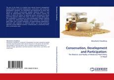 Обложка Conservation, Development and Participation: