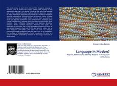 Bookcover of Language in Motion?