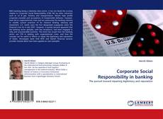 Bookcover of Corporate Social Responsibility in banking