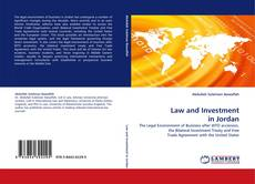 Couverture de Law and Investment in Jordan