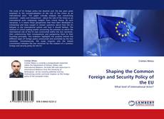 Bookcover of Shaping the Common Foreign and Security Policy of the EU
