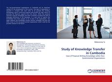 Portada del libro de Study of Knowledge Transfer in Cambodia