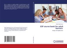 Обложка ESP course book for adult learners: