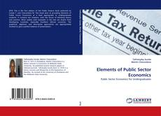 Portada del libro de Elements of Public Sector Economics