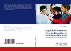 Обложка Acquisition of Modern Foreign Languages in Post-Primary Education
