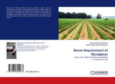 Buchcover von Boron Requirement of Mungbean