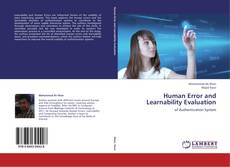 Borítókép a  Human Error and Learnability Evaluation - hoz