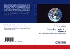 Bookcover of Statistical Logics For Research