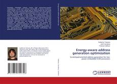 Bookcover of Energy-aware address generation optimization