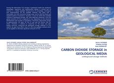 Bookcover of CARBON DIOXIDE STORAGE in GEOLOGICAL MEDIA