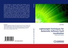 Lightweight Techniques for Automatic Software Fault Localization kitap kapağı