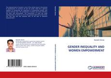 Bookcover of GENDER INEQUALITY AND WOMEN EMPOWERMENT